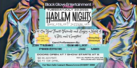 Black Glove Presents...Harlem Nights at Backstreet tickets