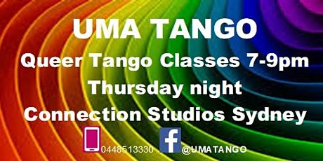 Queer Tango Classes - Improvers tickets