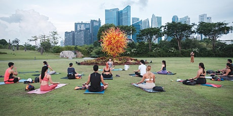 Yoga & Gong Bath by lululemon Ambassador Dawn Sim #themomoffour tickets