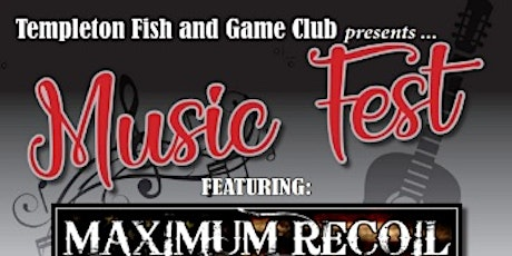 Templeton Fish and Game Music Fest tickets
