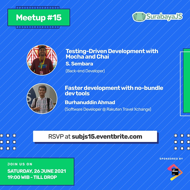 Meetup #15 - Testing-Driven Development & no-bundle dev tools image