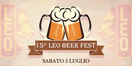 15° Leo Beer Fest biglietti