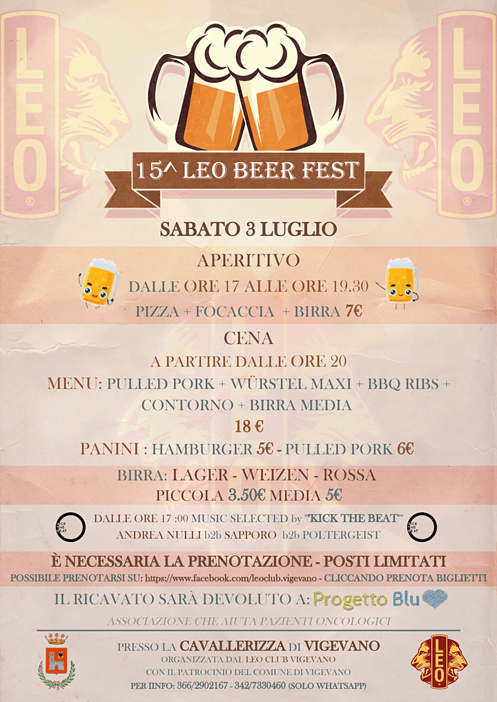 Immagine 15° Leo Beer Fest