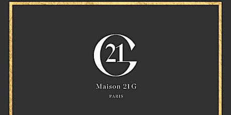 MAISON21G, bespoke haute perfumery. tickets
