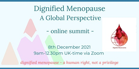 Dignified Menopause - A Global Perspective tickets