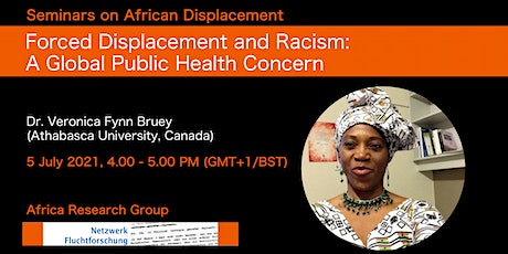 Forced Displacement and Racism: A Global Public Health Concern tickets