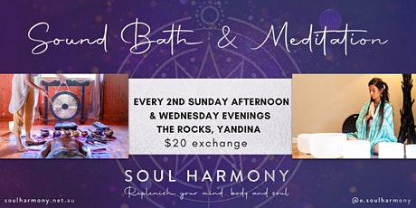 Sound Bath & Meditation  @The Rocks Yandina tickets