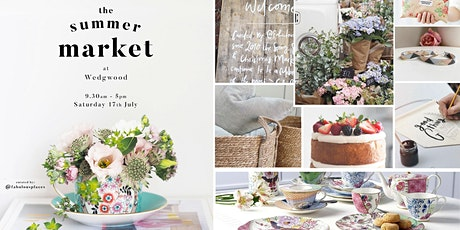 Summer Market Pop Up at Wedgwood tickets