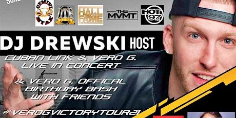 JM Empire Media 9.12.21 DJ Drewski Cuban Link Vero G. Hot 97 Takeover Event tickets