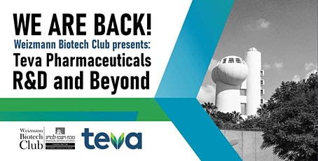 Teva Pharmaceuticals - R&D and beyond tickets