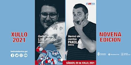 Gaitazumba + Vermú de contos | Luís Prego e Pakolas | SCQ entradas
