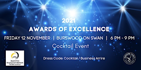 2021 Awards of Excellence , Friday 12 November tickets