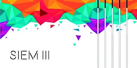 SIEM III - Seminario Internacional de Investigación en Educación Musical entradas
