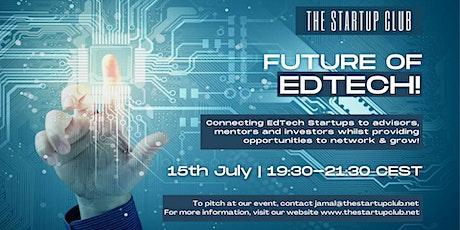 Future of EdTech IX - Online Pitch Night tickets