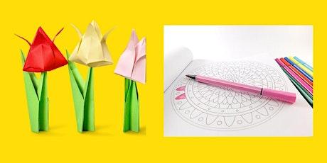 Creative workshop (Origami and Mandala) tickets