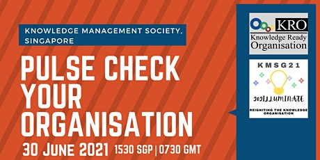 Pulse Check on your Organisation Knowledge Readiness tickets