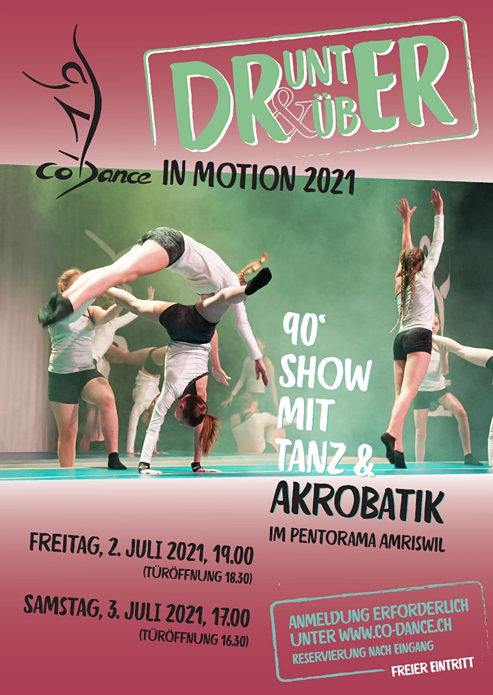 Co-Dance IN MOTION 2021 - DRUNTER & DRÜBER: Bild
