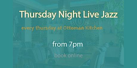 Thursday Night Live Jazz tickets