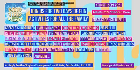 Good Vibes Festival of Wellness (with the emphasis on fun) tickets