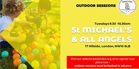 Daniel's Den - OUTDOOR Session @ St Michael's & All Angels, Hillside tickets