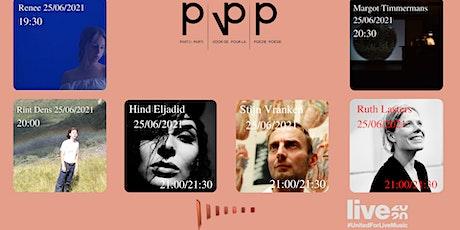 Renée/ Rint Dens /Margot Timmermans /Partij Voor De Poëzie tickets