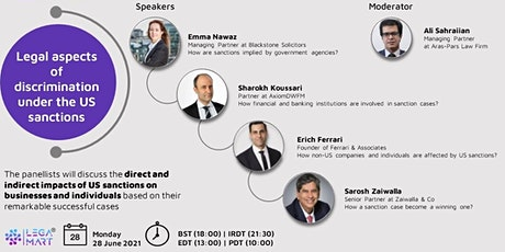 Legal Aspects of Discrimination Under the US Sanctions tickets