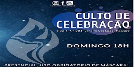 |CULTO DE CELEBRAÇAO | ADJC | 27/06/2021| ingressos