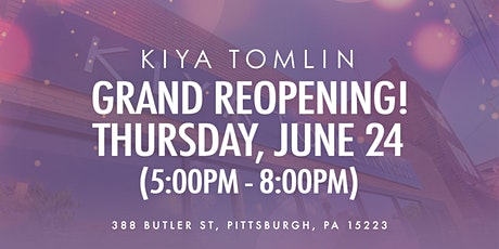 """Kiya Tomlin """"Shop Your Body Type"""" Guide Preview Event tickets"""