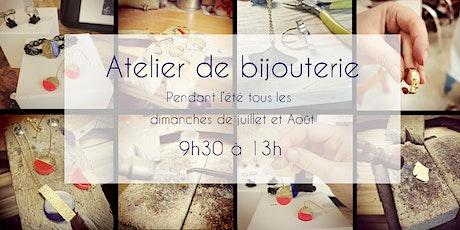 Atelier de bijouterie demis journée tickets