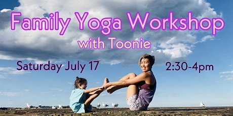 Family yoga workshop tickets