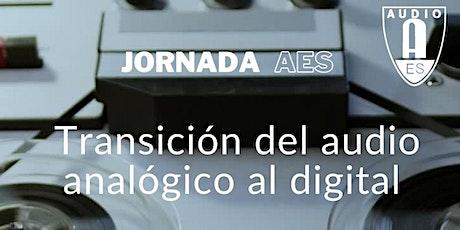 Transición del audio analógico al digital entradas