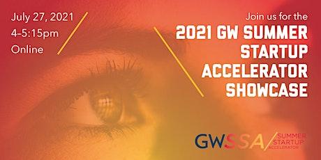 2021 GW Summer Startup Accelerator Showcase tickets