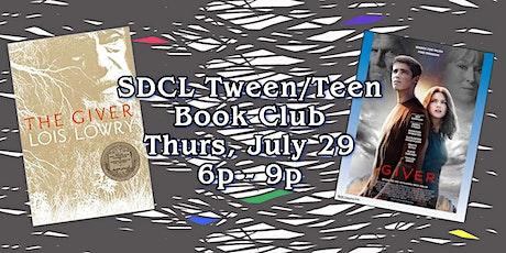 Tween/Teen Summer Book Club - The Giver tickets