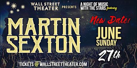 Martin Sexton tickets