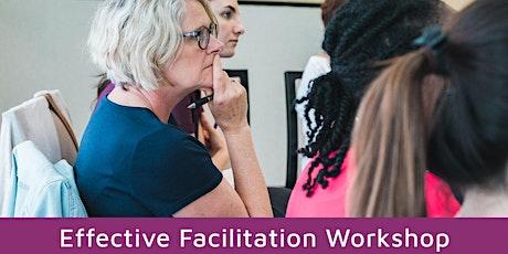 Effective Facilitation Workshop Sydney July 2021 tickets
