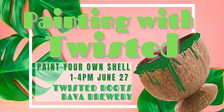 Paint Your Own Shell at Twisted Roots Kava Brewery tickets