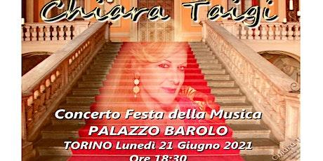 """CHIARA TAIGI - Concerto """"Festa della Musica 2021"""" Palazzo Barolo biglietti"""