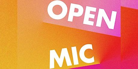 Open Mic - JULY tickets