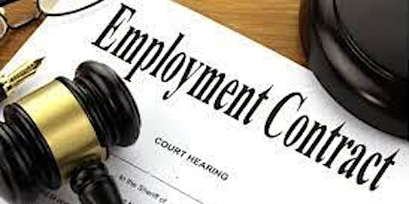 Employment Session-Employment contracts , requirements by law and more.. tickets