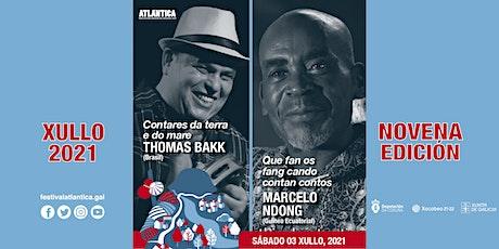 Thomas Bakk (Brasil) e Marcelo Ndong (Guinea Ecuatorial) | SCQ entradas