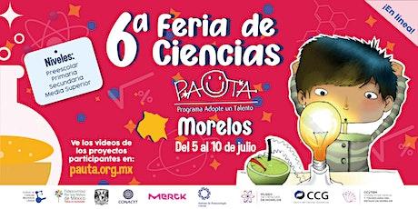 Feria PAUTA Morelos 2021 boletos