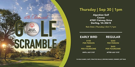 4th Annual Special Olympics District of Columbia Golf Scramble tickets