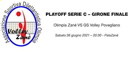 Finale Playoff Serie C maschile: Olimpia Zané VS GS Volley Povegliano biglietti