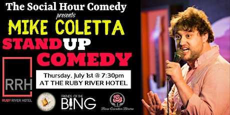 Comedy Night at The Ruby with Mike Coletta tickets