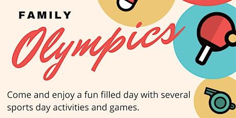 Family Olympics Downham tickets