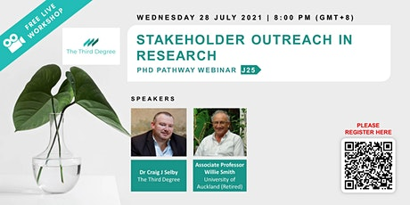 Stakeholder Outreach in Research tickets