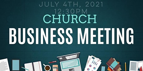 ANOTHER CHANCE CHURCH BUSINESS MEETING tickets