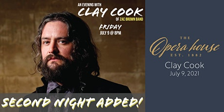 An Evening with Clay Cook (Second Night Added!) tickets
