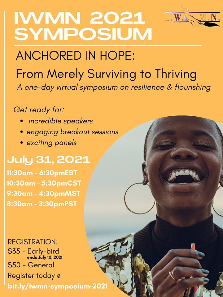 ANCHORED IN HOPE: From Merely Surviving to Thriving image