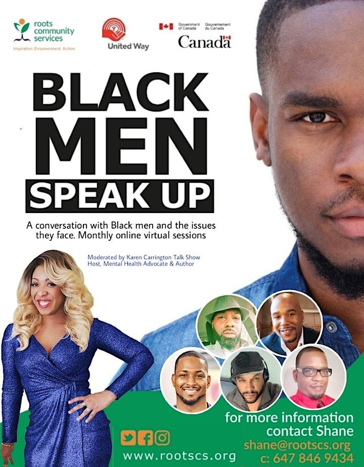 Black Men Speak Up image